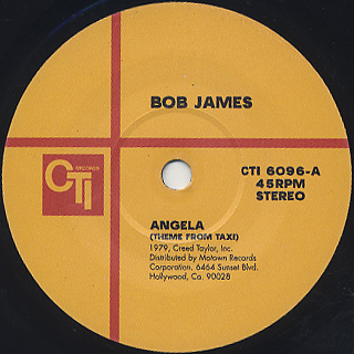Bob James / Angela c/w Look-Alike