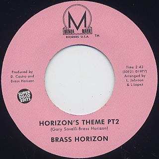 Brass Horizon / Horizon's Theme back