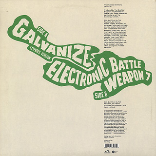 Chemical Brothers / Galvanize back