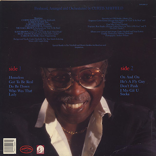Curtis Mayfield / Take It To The Street back