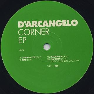 D'Arcangelo / Corner EP back