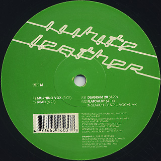 D'Arcangelo / Corner EP label