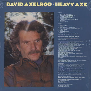 David Axelrod / Heavy Axe back