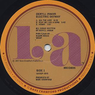Deryll Inman / Electric Skyway label