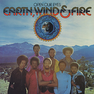 Earth, Wind & Fire / Open Our Eyes front