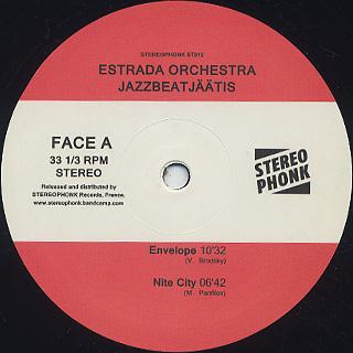 Estrada Orchestra / Jazzbeatjaatis label