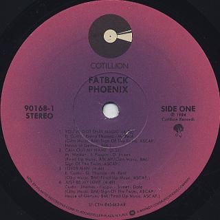 Fatback / Phoenix label