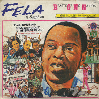 Fela & Egypt '80 / Beasts Of No Nation front