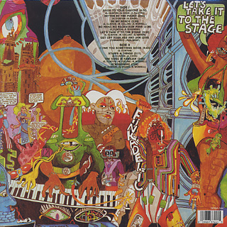 Funkadelic / Let's Take It To The Stage back