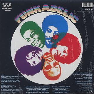 Funkadelic / S.T. back