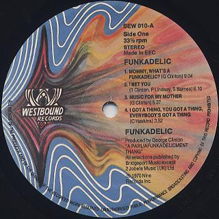 Funkadelic / S.T. label