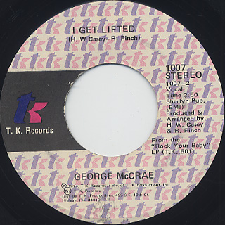 George McCrae / I Get Lifted