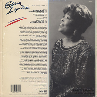 Gloria Lynne / A Time For Love back