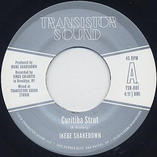 Ikebe Shakedown / Curitiba Strut b/w Monophonics / Hanging On (45)