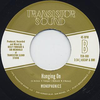 Ikebe Shakedown / Curitiba Strut b/w Monophonics / Hanging On (45) back