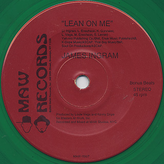 James Ingram / Lean On Me (7
