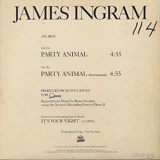 James Ingram / Party Animal