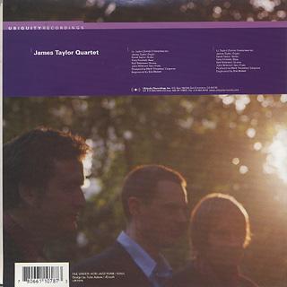 James Taylor Quartet / Chalk Pit back