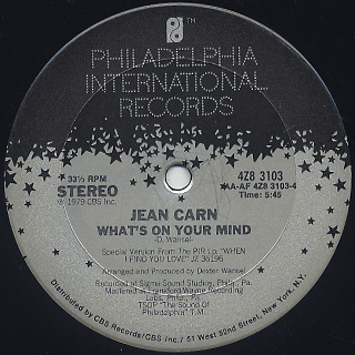 Jean Carn / Was That All It Was back