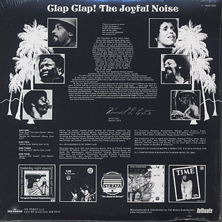 Kenny Cox / Clap! Clap! (The Joyful Noise) (2LP) back
