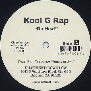 Kool G Rap / Da Heat back