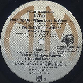 L.T.D. / Togetherness label