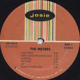 Meters / S.T. label