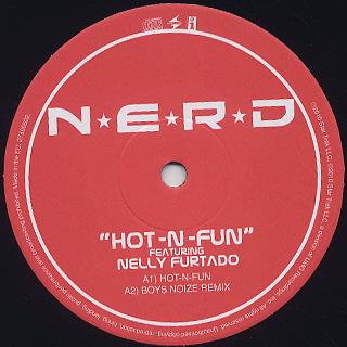 N*E*R*D Featuring Nelly Furtado / Hot-N-Fun label
