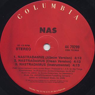 Nas / Nastradamus label
