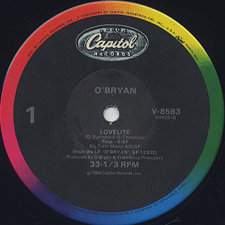 O'Bryan / Lovelite back
