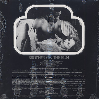 O.S.T.(Johnny Pate) / Brother On The Run back