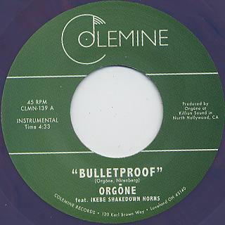 Orgone / Bulletproof (45) back