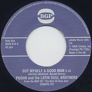 Pucho and The Latin Soul Brothers / Got Myself A Good Man (VG+)