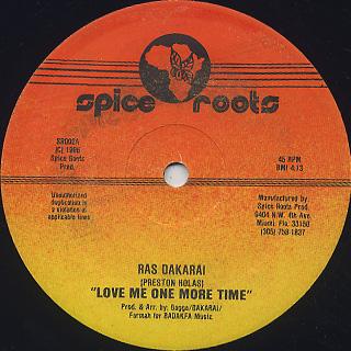 Ras Dakarai / Love Me One More Time