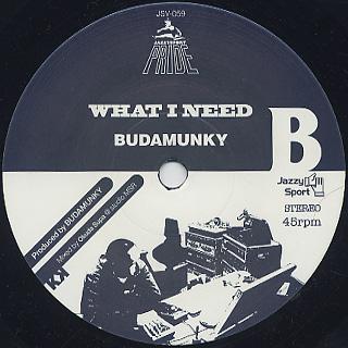 Sa-Ra Creative Partners / Misdemeanor c/w Budamunky / What I Need label