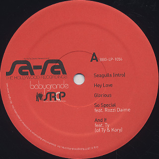 Sa-Ra / The Hollywood Recordings label
