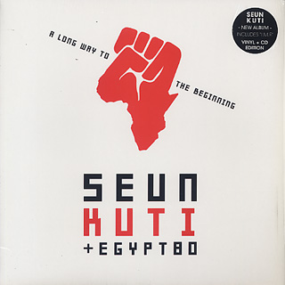Seun Kuti & Egypt 80 / A Long Way To The Beginning front