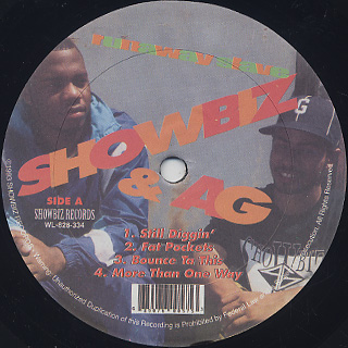 Showbiz & A.G. / Runaway Slave label