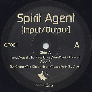 Spirit Agent / Input/Output EP label