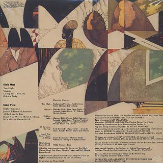Stevie Wonder / Innervisions back