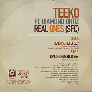 Teeko feat. Diamond Ortiz / Real Ones (SFC) back