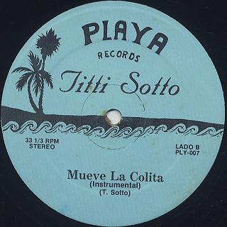 Titti Sotto / Mueve La Colita back