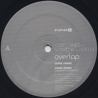 Todd Sines + Natacha Labelle / Overlap label