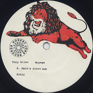 Tony Allen / Moyege label