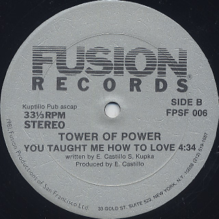 Tower Of Power / It's As Simple As That back