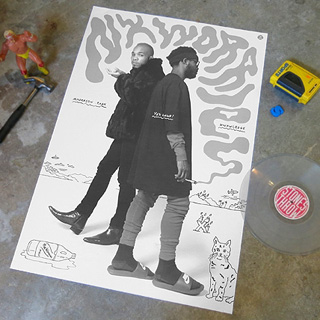 Nxworries (Anderson .Paak & Knxwledge) / One Big Poster back