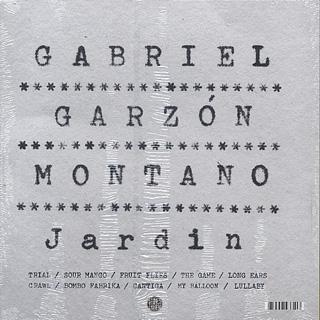 Gabriel Garzón-Montano / Jardín back