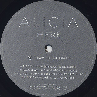 Alicia Keys / Here label