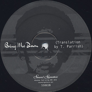 Alton Miller Featuring Maurissa Rose / Bring Me Down label