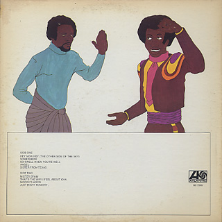 Aretha Franklin / Hey Now Hey(The Other Side Of The Sky) back